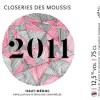 Closeries des Moussis 2011